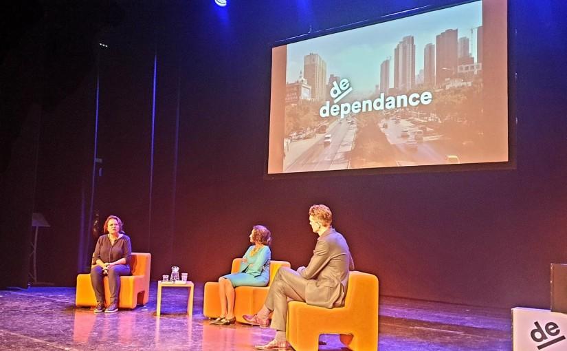 Live talk after 6 months at Hofplein theatreRotterdam